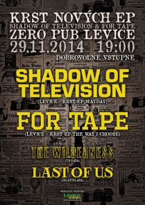For Tape a Shadow of Television