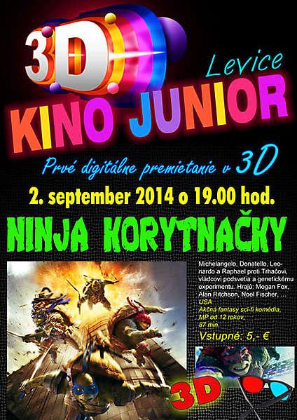47794a27f V levickom kine Junior je nainštalovaná technológia Dolby 3D systému ...