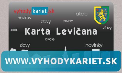Karta Levičana – vernostný program www.vyhodykariet.sk - Leviceonline.sk b83c6569e8d