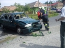 Auto v potoku, Mýtne Ludany, 21.5.2012