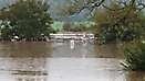 Záplavy a zvýšené toky, Levice a okolie, 2.9.2014