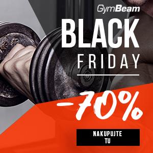 Gymbeam - Black Friday až 70% zľavy