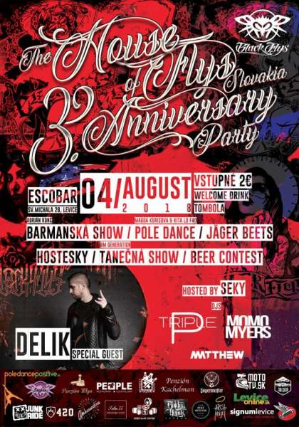 The House of Flys Slovakia 3.Anniversary party
