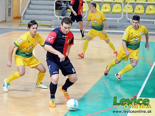 Futsalisti Levíc nezvládli dôležitý zápas v Nových Zámkoch