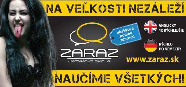 Jazyková škola ZARAZ: najväčšia jazyková škola ktorá učí 4 x rýchlejšie!