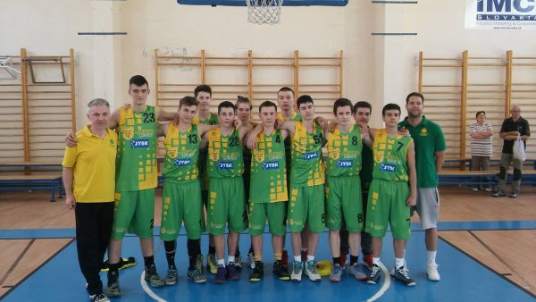 Kadeti B U17 ŠBK Junior Levice víťazmi 2. Ligy, mladší žiaci U13 na Majstrovstvách Slovenska vybojovali 4. miesto